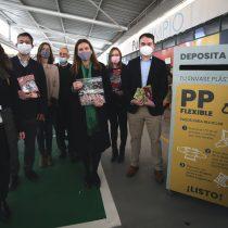 Lanzan proyecto público-privado que impulsará el reciclaje de los plásticos flexibles