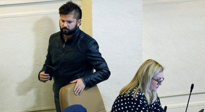 """Boric nuevamente insiste contra Jiles: """"En las pocas ideas que ha manifestado, no estamos de acuerdo"""""""