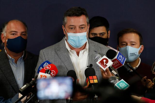 Sebastián Sichel pide a Chile Vamos libertad de acción para militantes que busquen apoyar su candidatura
