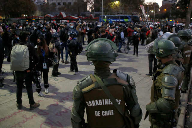 Otro viernes de manifestaciones: protestas en Plaza Italia por presos del estallido