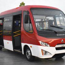 Primer bus regional diseñado y fabricado en Chile cuenta con estándar RED para personas con movilidad reducida