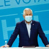 """Ministro Paris llama a sufragar de forma segura: """"Se contarán con todas las medidas para evitar contagios de covid-19"""""""