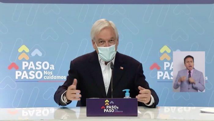 """Sin hablar de ayuda universal ni de la agenda de """"mínimos comunes"""", Presidente Piñera da su versión de la apertura del diálogo con el Congreso"""