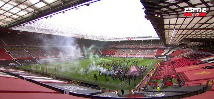 Invasión de hinchas en protesta contra dueños del club obliga a aplazar el Manchester United-Liverpool