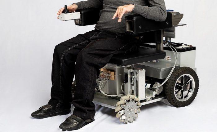 Avanchair, la silla de ruedas tecnológica que busca financiamiento con crowdfunding