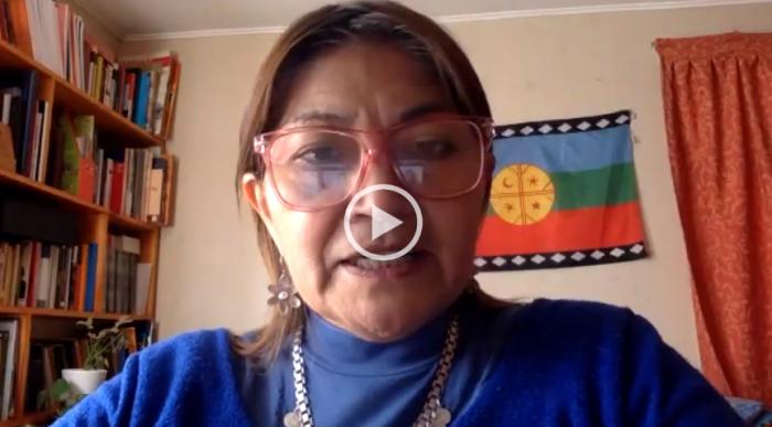 """Elisa Loncon, constituyente mapuche: """"Las naciones originarias no estamos hablando de independencia, estamos hablando del ejercicio del derecho político para determinar su presente y su futuro"""""""