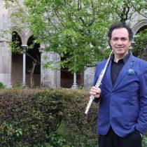 Flautista chileno Pablo Ramírez compartirá escenario con el reconocido Claudi Arimany