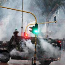 HRW: Policía lanza proyectiles desde tanquetas a manifestantes en Colombia