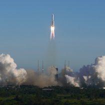 FACh descarta por el momento que restos de lanzador espacial Long March 5B caigan en territorio nacional