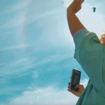 El dron que incentiva el reciclaje en Chile