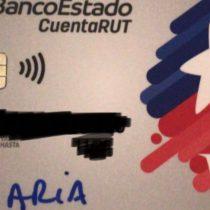 BancoEstado y CuentaRUT con nombres escritos a mano: es una
