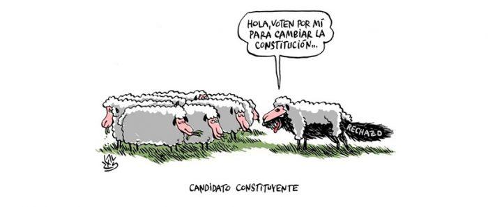 Instituto Francés de Chile lanza «La Constitución entre líneas», una serie de ilustraciones sobre el proceso constituyente