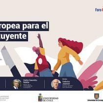 """Lanzan ciclo de debates """"Contrapuntos Chile-Unión Europea para el proceso constituyente"""""""