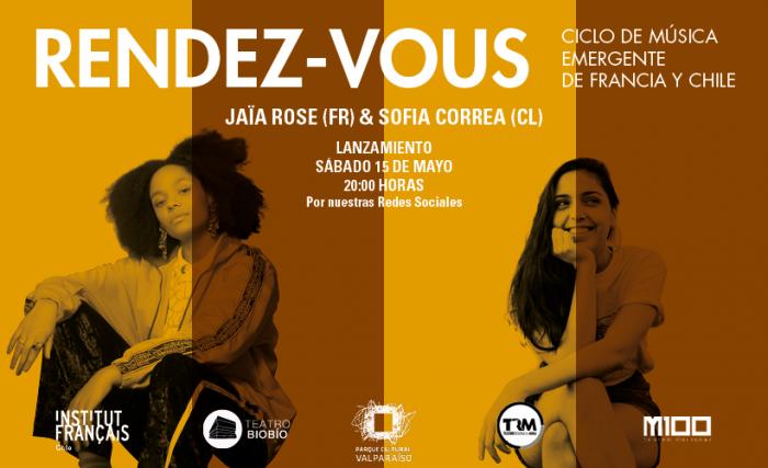 Cantantes Sofía Correa y Jaïa Rose en ciclo Rendez – Vous