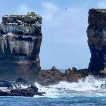 """El reconocido punto turístico de la Isla Galápagos """"Arco de Darwin"""" se derrumbó tras erosión natural"""