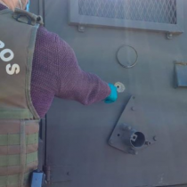 Ataques en Ercilla: disparan contra fundo y carro blindado de Carabineros