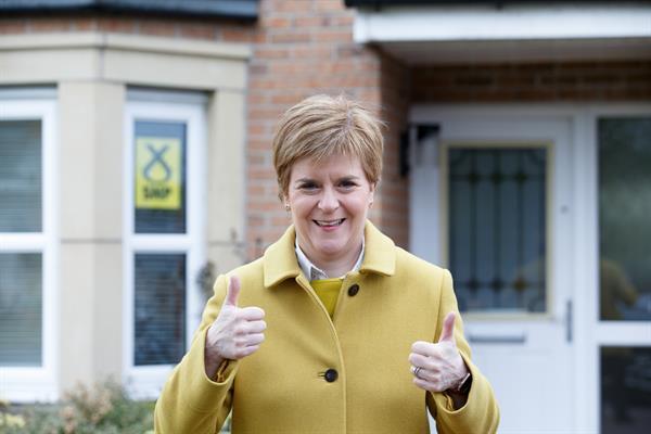 Victoria nacionalista en Escocia presagia la batalla por otro referéndum