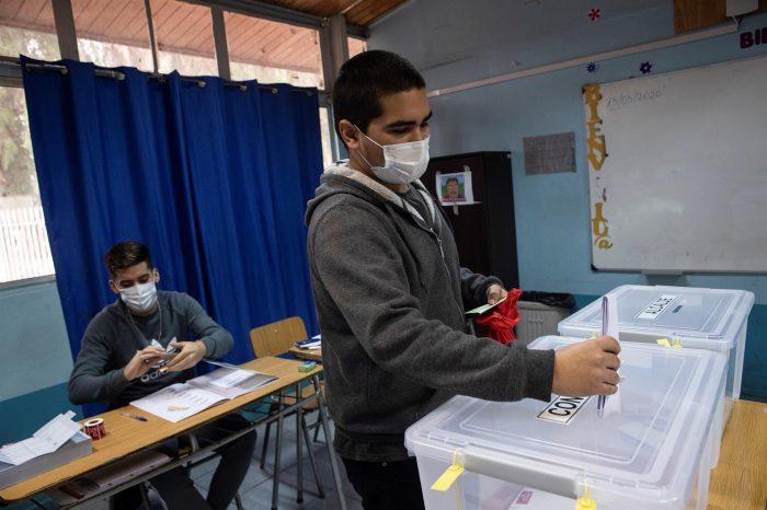 Heridos oculares por elecciones constituyentes: