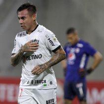 En medio de gases lacrimógenos: Eduardo Vargas anotó un golazo en la interrumpida victoria de Atlético Mineiro ante América de Cali