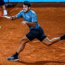 El mejor triunfo de su carrera: Cristian Garín venció al número 3 del mundo y avanzó a los cuartos de final del Master 1000 de Madrid