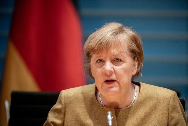 "Canciller Angela Merkel expresa ""solidaridad"" con Israel"