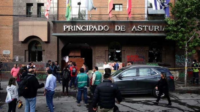 Por lanzamiento de bombas molotov: condenan hasta seis años de presidio a sujetos que fueron absueltos por el incendio del Hotel Principado de Asturias