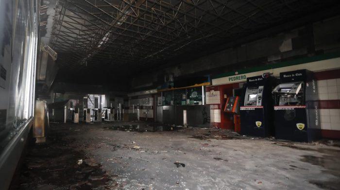 Tribunal condena a menor de edad por incendio que afectó a la estación Metro Pedrero en el estallido social