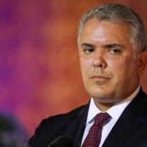 Duque no descarta decretar estado de conmoción interior por manifestaciones en Colombia