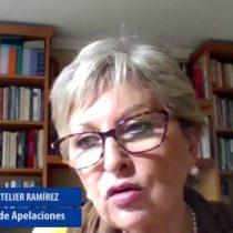 Senado aprueba por unanimidad nominación de María Teresa Letelier como ministra de la Corte Suprema