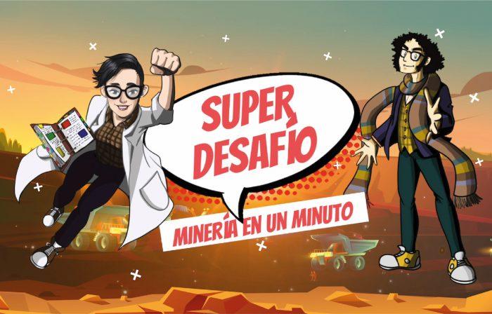 Estrenan nuevo programa que acerca a los niños a la minería en TV Educa Chile