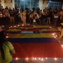 Manifestaciones en Providencia por represión policial en Colombia