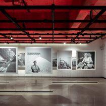 Exposición fotográfica de Roberto Montandon en Metro Ñuñoa