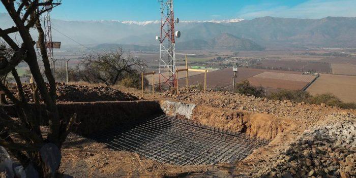 Alcalde de Graneros denuncia destrucción ilegal de patrimonio histórico para instalar antenas de telefonía