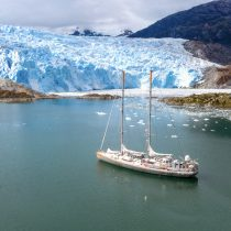 Velero científico TARA se despidió de las costas chilenas para seguir investigando sobre el cambio climático