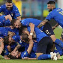 Italia sigue imparable, vence 3-0 a Suiza y se mete en octavos de final de la Eurocopa