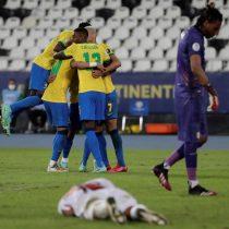 Brasil sigue imparable y derrota con gol de último minuto a una Colombia clasificada