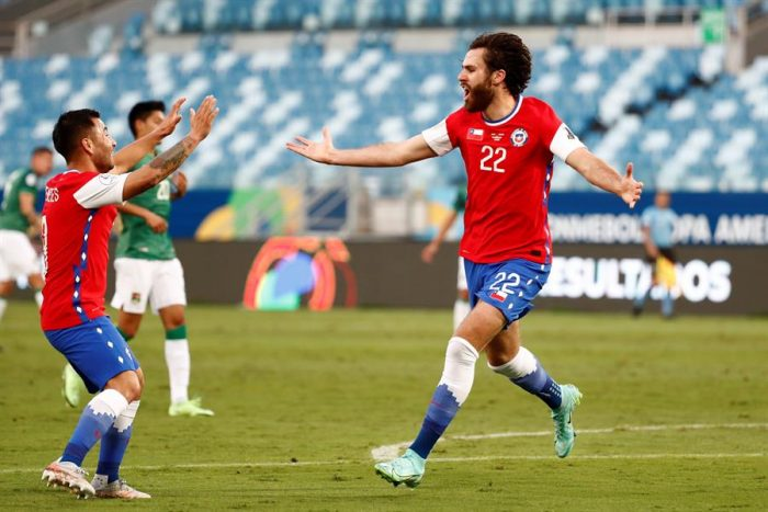 Brereton hizo la diferencia: la Roja gana 1-0 a Bolivia y suma su primer triunfo en Copa América