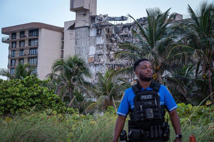 Drama en Miami: policía dice que hay al menos 99 desaparecidos tras derrumbe de edificio