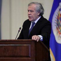 Almagro pide suspender a Nicaragua de la OEA tras