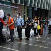 Hong Kong: largas colas para obtener última edición del censurado Apple Daily