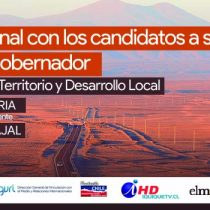 El Mostrador transmitirá este viernes el debate entre José Miguel Carvajal y Marco Pérez, los candidatos a gobernador regional por Tarapacá