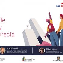 Mecanismos de participación y deliberación directaserá el segundo tema del ciclo sobre el proceso constituyente organizado por la UE en Chile