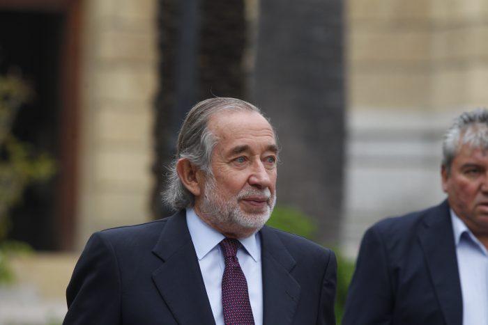 Murió Jovino Novoa, el histórico duro de la UDI que cayó en desgracia con el caso Penta