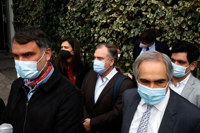 Dirigentes de Chile Vamos abordan