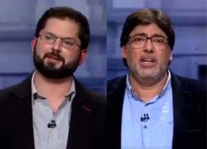 """En debate de """"guante blanco"""" y de mayor peso político que el de Chile Vamos, Boric marca diferencias con Jadue en temas clave como el acuerdo del 15-N"""