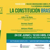 """Sigue en vivo seminario """"La Constitución brasileña de 1988"""""""