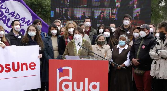 Emulando las 40 medidas de Allende y con dardos a Jadue, Paula Narváez lanza su programa de Gobierno