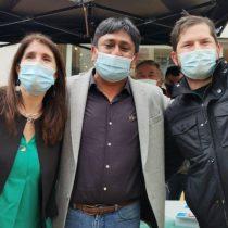 Como si nada hubiera pasado: Narváez y Boric coinciden en Antofagasta para dar apoyo al candidato a gobernador Ricardo Díaz