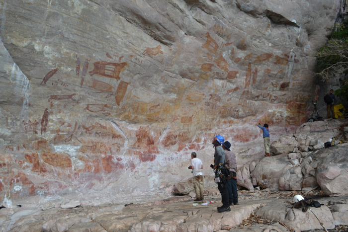 Conversatorio arqueológico sobre Serranía de Chiribiquete