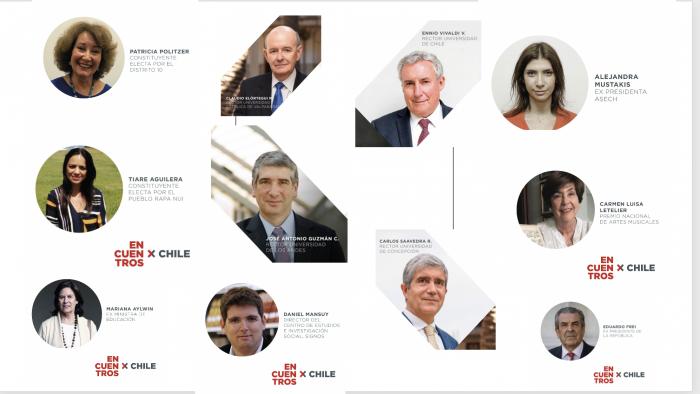 """""""Encuentros por Chile"""": rectores abordaron los desafíos que enfrenta el país en un contexto de proceso constituyente"""